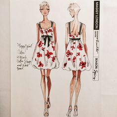 #tbt Maggy London Dresses 2010 @shawnamcgee_ny @lrpeacock #renaldobarnette #fashion #fashiondesign #instalike #lookoftheday #dress #fashiondesignsketch #sketches #designsketch #cute #girly #sketchoftheday