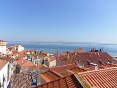 Alfama District - View on the roofs of #Alfama.