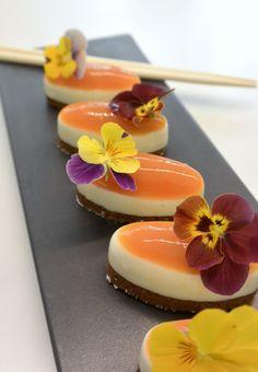 """""""Sushi en trompe l'œil"""" réalisés par le chef Christophe Michalak lors du cours Exclusif Michalak à la Michalak Masterclass"""