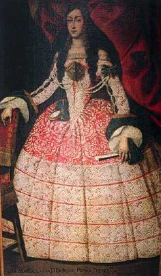 Maria Luisa Orleans by Juan Carreño de Miranda (location unknown to gogm)