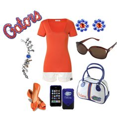 Perfect for a Gator Game! <3