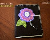 Hand Stitched Felt Needle Book