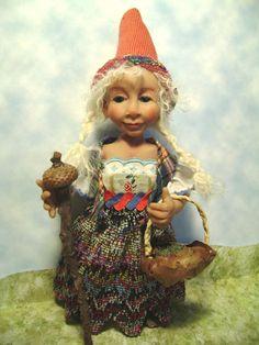 "Tricia Lancia  ""Greta a Gnome Girl"""