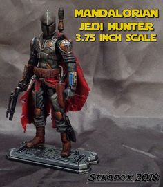 Mandalorian Jedi Hunter custom action figure from the Star Wars series using GI Joe as the base, created by Stronox. Star Wars Action Figures, Custom Action Figures, Mandalorian Ships, Post Apocalyptic Costume, Knights Of Ren, Star Wars Facts, Star Wars Concept Art, E Mc2, Star Wars Ships