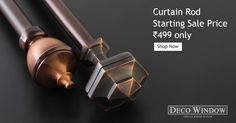 #DecoWindow #Sale Deco Window #Diwali_Sale most exciting #Offers #Curtain_Rod Starting at @499 only http://www.decowindow.in/sale-48/499-sale.html  Follow Us for More... www.pinterest.com/decowindow/ #DecoWindow #Curtains #Cushions #Curtain_Rod #Diwali_Sale