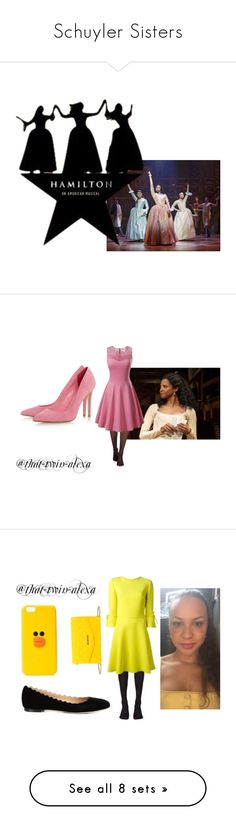 """""""Schuyler Sisters"""" by that-twin-alexa on Polyvore featuring modern, Music Legs, Ermanno Scervino, Chloé, Love Moschino, Ann Summers, Boohoo, Wolford, Doublju and Liars & Lovers"""