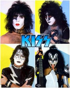 Kiss with Eric Carr. Kiss Rock Bands, Kiss Band, Rock And Roll Bands, Paul Stanley, Gene Simmons, Los Kiss, Kiss Group, Kiss Images, Kiss Pictures