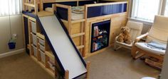 Pai faz uma cama épica para seu filho, com direito a sala secreta e muita…