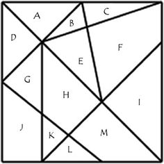 ¿Cuántos triángulos hay en la imagen?   matematicascercanas