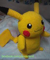 Ravelry: Amigurumi Pikachu Pattern (Pikachuu) pattern by Noramon Dron