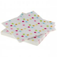Rainbow Confetti Polka Dot Napkins : The Party Cupboard Online Party Supplies Store Australia Online Party Supplies, Kids Party Supplies, Polka Dot Party, Polka Dots, Birthday Party Tables, Birthday Ideas, 5th Birthday, Rainbow Parties, Party Napkins