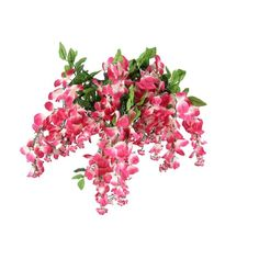 Amazon.com: Artificial wisterria Long Hanging Bush Flowers - 15 Stems... (€18) ❤ liked on Polyvore featuring home, home decor, floral decor, flowers, plants, flower home decor, flower arrangement, artificial arrangement, flower stems and artificial flower arrangement