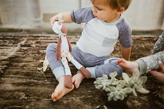 Row 10 baby boutique // greenhouse photoshoot // toddler photoshoot // baby photoshoot // Miki Miette Spring 2017 // toddler boy style // Rylee and Cru Holiday 2016 floral jumpsuit // toddler girl style // brother sister photoshoot // shop.row10baby.com