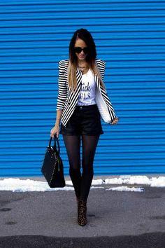 Incredibly Pretty trendy women's blazer 2018 - Women's Jewelry and Accessories-Women Fashion Mode Outfits, Office Outfits, Short Outfits, Fall Outfits, Casual Outfits, Fashion Outfits, Fashion Mode, Look Fashion, Womens Fashion