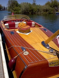 ACBS Classic Wooden Boat Show Lake Tahoe