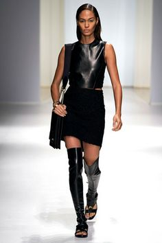 Joan Smalls Photos Spring 2013 Ready-to-Wear Salvatore Ferragamo - Runway on Style.com