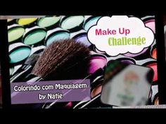 DESAFIO #1 MAKE UP CHALLENGE! COLORINDO COM MAQUIAGEM [ANNA - FROZEN]