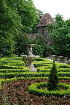 *Ksiaz Castle Gardens, Poland