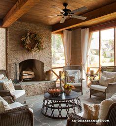 A Responsible Revival | At Home Arkansas | November 2013 | Design by Mona Thompson, Talena Ray, and Bill Parkinson | Photography by Nancy Nolan