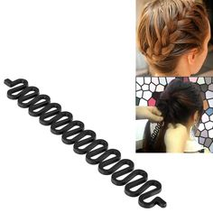 Insten Fashion Hair Design Styling Braid Tool Hair Maker, Black *** Check this awesome image  : Hair Loss
