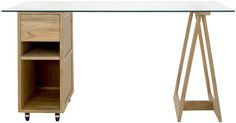 lincoln table natural/white natural trestle:R1495 natural trolley:R2995 glasstop:R1595 =R6085 =338.05gbp