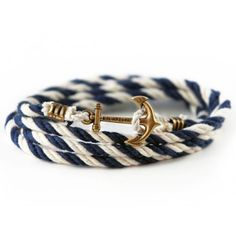 Peter Wence Lanyard Hitch Bracelet by Kiel James Patrick. Make any day one on the ocean with this nautical wrap bracelet! #KielJamesPatrick #preppy #bracelet http://www.countryclubprep.com/accessories/bracelets/peter-wence-lanyard-hitch-bracelet-by-kiel-james-patrick.html