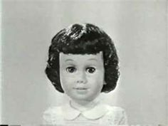 Vintage Chatty Cathy toy doll TV Commercial 1960. Always wanted a Chatty Cathy.....the closest thing I got was the paper dolls!