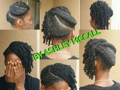 Natural braided style