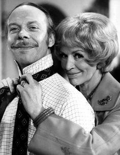 George and Mildred (Brian Murphy / Yootha Joyce) - Amina Adams - Deep Nostalgia British Sitcoms, British Comedy, British Humour, British History, V Drama, English Comedy, Radios, Nostalgia, Classic Comedies