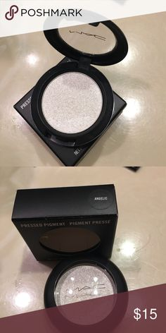 "Mac pressed pigment ""Angelic"" new in box,100% authentic 🌸Bundle and save🌸 MAC Cosmetics Makeup Eyeshadow"