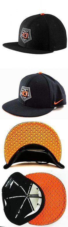 Hats and Headwear 158918: Mens Hat Nike True Kevin Durant Star Bill Snapback Cap Black Orange New -> BUY IT NOW ONLY: $37.95 on eBay!