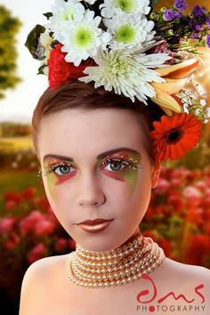 mother nature makeup and styling