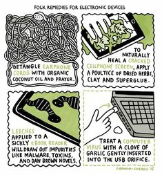 Folk Remedies for Electronic Devices