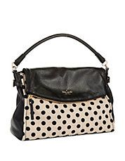 KATE SPADE NEW YORK Little Minka Shoulder Bag #style #fashion #polkadots