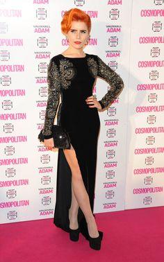 Paloma Faith wins Ultimate Style Icon at the Cosmo Awards! Paloma Faith, Lulu Guinness, Ginger Hair, Celebs, Celebrities, Red Carpet Fashion, Cosmopolitan, Lady, Fashion Forward