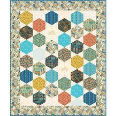 Free Pattern - Palace Garden Quilt - Fabric Hut