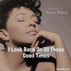 """-- #LyricArt for """"No One In The World"""" by Anita Baker"""