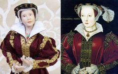 Catherine Parr doll by MrsTiggywinkleDolls
