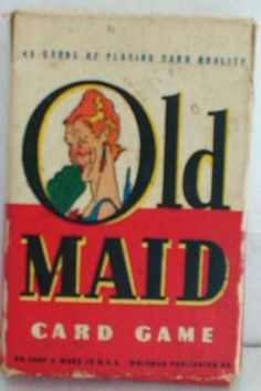 Old Maid Card Game the mental stress we inflicted on Colleen...