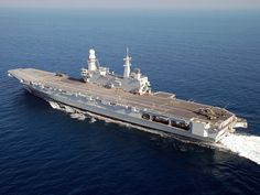 Picture of the Cavour (550) The Cavour 550 aircraft carrier is a relatively new entry into the ranks of the Italian Navy, having been commissioned in 2008.