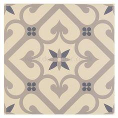 quatrefoil charcoal grey tile | grau, produkte und regency, Hause ideen
