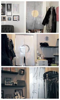 DIY Noren Curtains