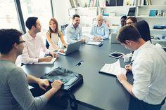 Stock Photo : Multi-ethnic Businesspeople Have Meeting.