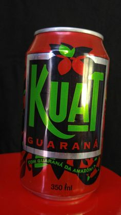 Kuat from Brasil made by Coke