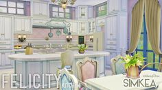 Simkea: Felicity Kitchen • Sims 4 Downloads