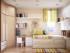 [ Small Kids Room Design Space Saving Ideas Sergi Mengot Space Mengot Great Wall Height Spaces Utilizing ] - Best Free Home Design Idea & Inspiration Small Bedroom Designs, Small Room Design, Kids Room Design, Design Bedroom, Bed Designs, Table Designs, Beds For Small Rooms, Small Room Bedroom, Kids Bedroom