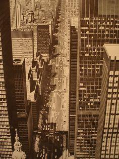 1960's New York City Manhattan