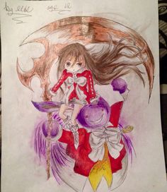This is one of my drawings! ❤️ Hope you like it! #Anime #Art #Drawing #Pandorahearts