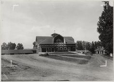 College Barns. 1915. UHPC, University Archive, Archives and Special Collections, CSU, Fort Collins, CO