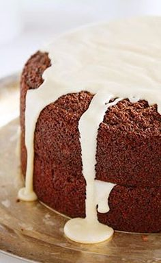 chocolate beer cake (adult cake) - i am baker